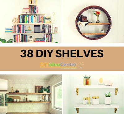 38 DIY Shelves