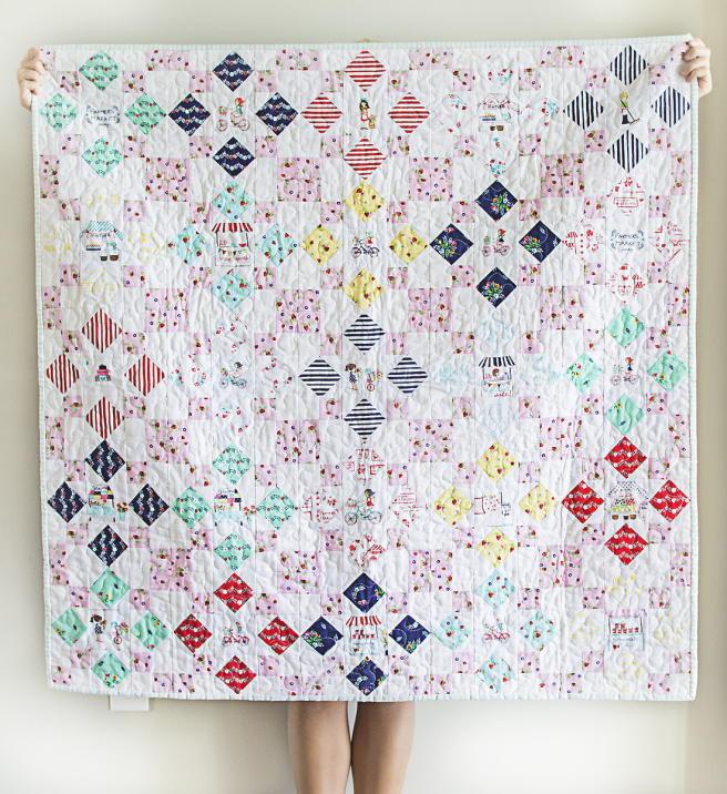 Market Squares Quilt Pattern Favequilts Com