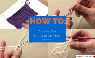 How to Crochet the Tunisian Stitch