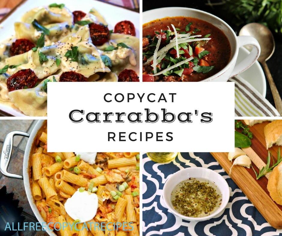 20 Copycat Carrabba's Recipes