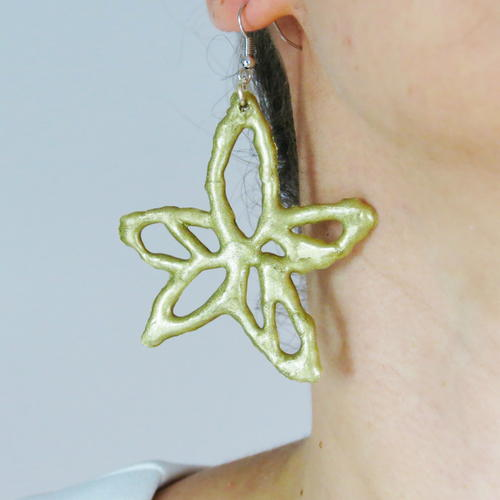 Easy Video Tutorial Spring Flower Earrings