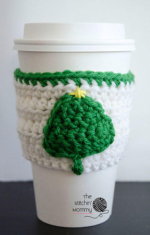 Little Tree Coffee Cup Cozy