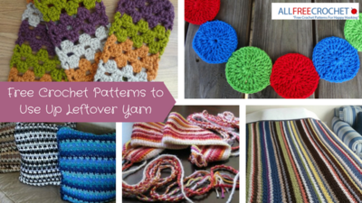 Free Crochet Patterns to Use Up Leftover Yarn