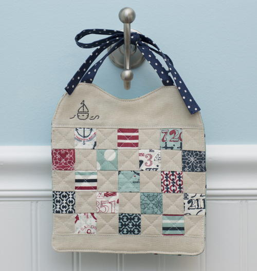 Simple Patchwork Bib Tutorial