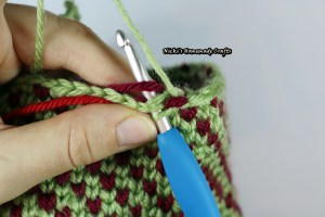 How to Crochet the Waistcoat Stitch
