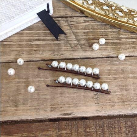 Pearl DIY Hair Pins