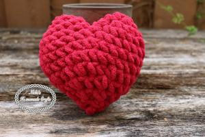 For the Love of Your Life Crochet Heart