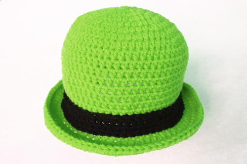 Lucky Bowler Crochet Hat