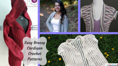 41 Easy Breezy Cardigan Crochet Patterns