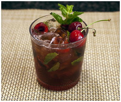 Cherry-Mint Julep