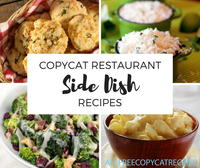 29 Copycat Restaurant Side Dish Recipes that Steal the Show