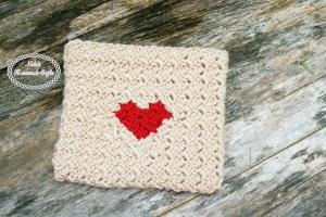 Sending My Love Crochet Envelope
