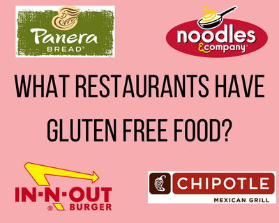 What Restaurants Have Gluten Free Food