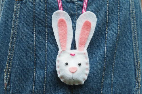 Bunny Pouch Necklace
