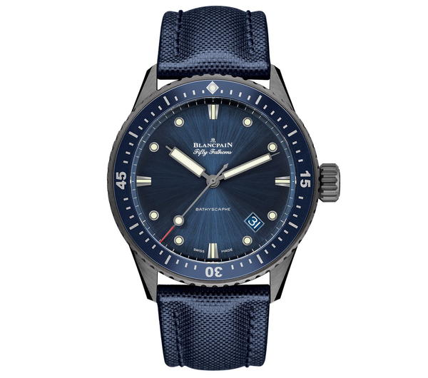 Review: Blancpain Fifty Fathoms Bathyscaphe, Now Featuring a Grey Ceramic Case