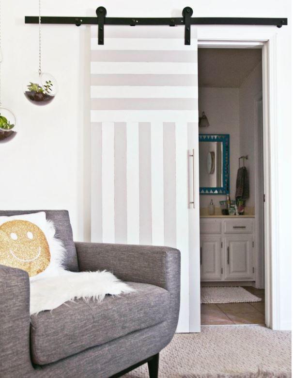 small space sliding door design. Black Bedroom Furniture Sets. Home Design Ideas
