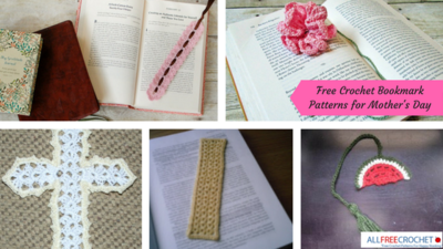 22 Free Crochet Bookmark Patterns for Mothers Day