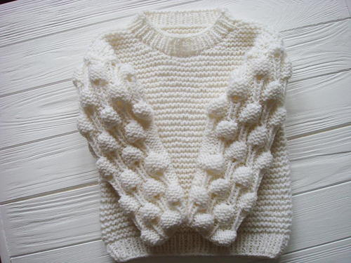 1b7acc6c5 Oversized Bobble Sweater