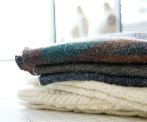 Felting Wool Sweaters