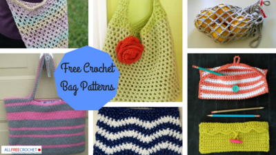 23 Free Crochet Bag Patterns