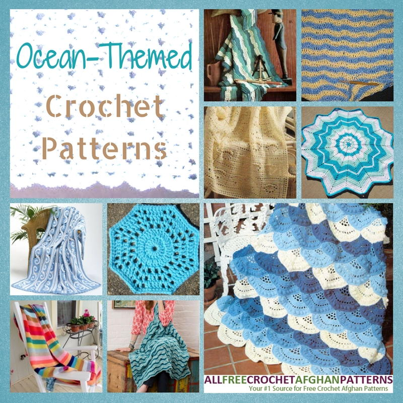 Soak Up The Sun 30 Ocean Themed Crochet Patterns