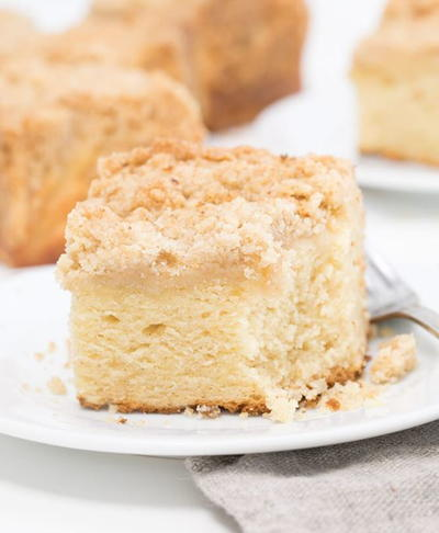 Sour Cream Gluten Free Coffee Cake