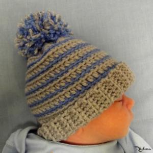 fcf05d65beea0 Pom Pom Hats for Babies. Crochet Pom Pom Beanie