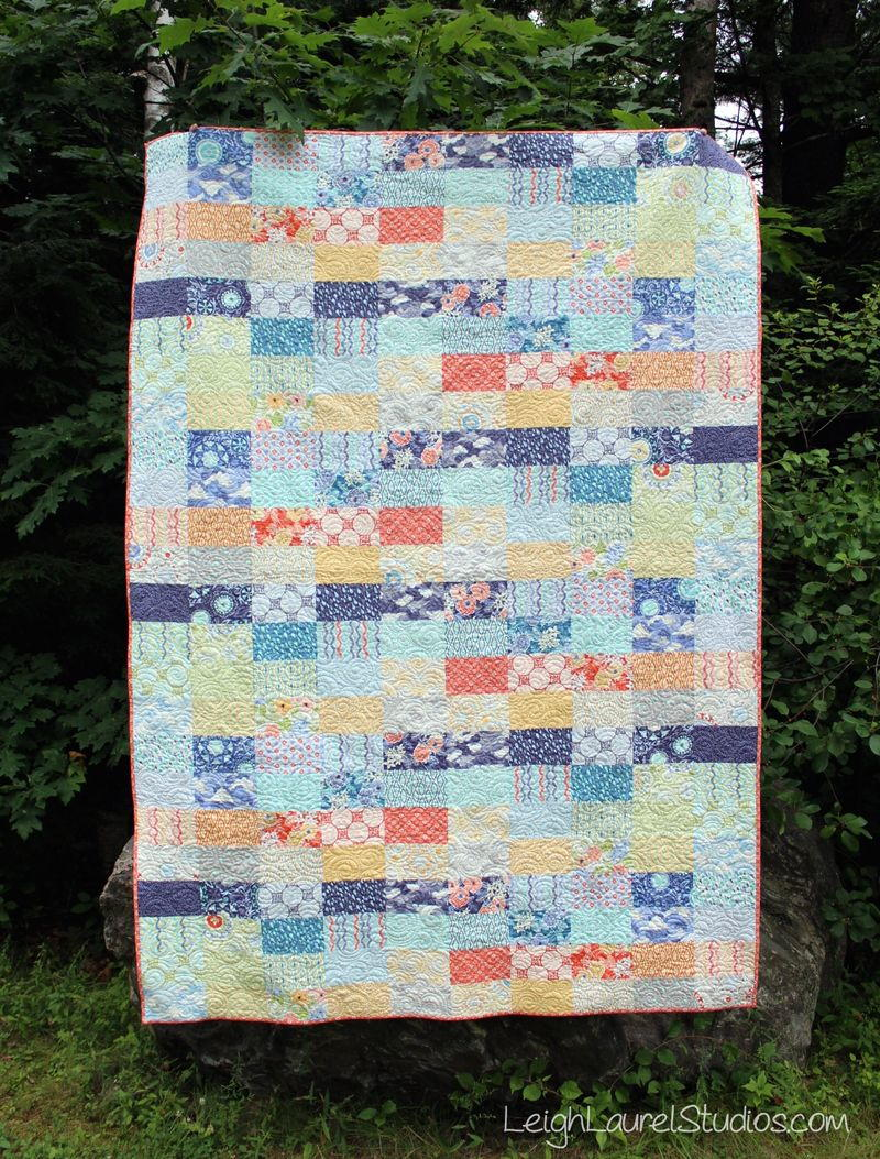 Ebb And Flow Quilt Pattern Favequilts Com