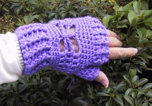 Suzie's Butterfly Mitts
