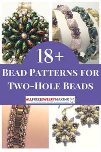 18+ Bead Patterns for Two-Hole Beads