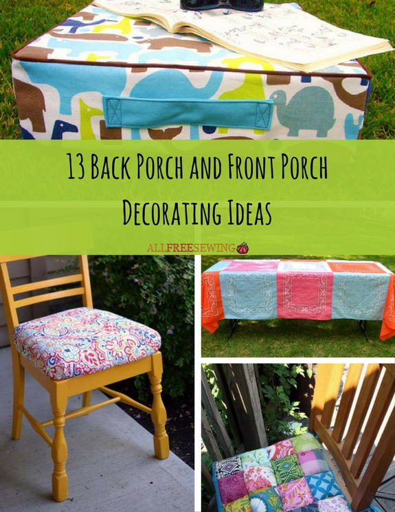 Back Porch And Front Porch Decorating Ideas Allfreesewing Com