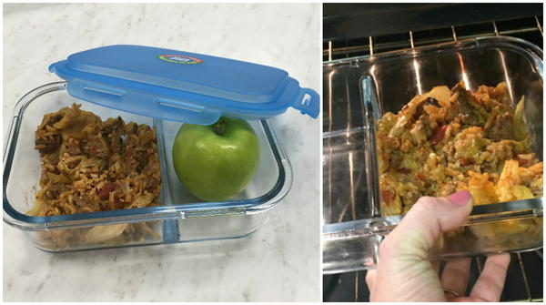 Smart Planet Glass Bento Meal Container