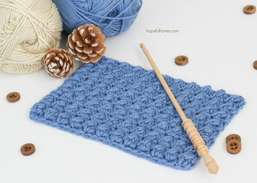 Crochet The Even Berry Stitch
