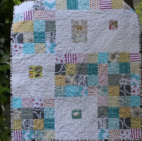 Sweetly Scrappy Baby Quilt