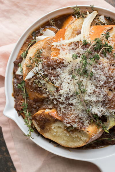 Baked French Onion Soup Casserole