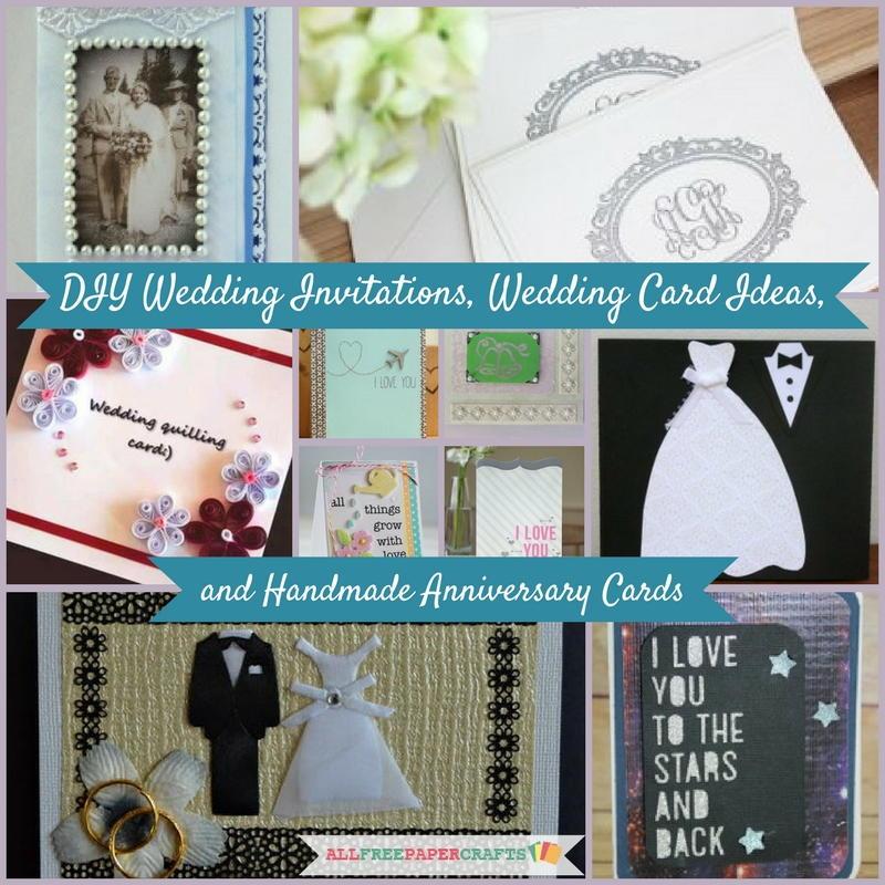Wedding Cards Ideas To Make: 17 DIY Wedding Invitations, Wedding Card Ideas, And