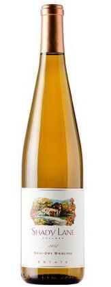 Shady Lane Semi-Dry Riesling 2013