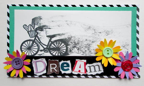Giraffe and Dream Bike Adventure Cards