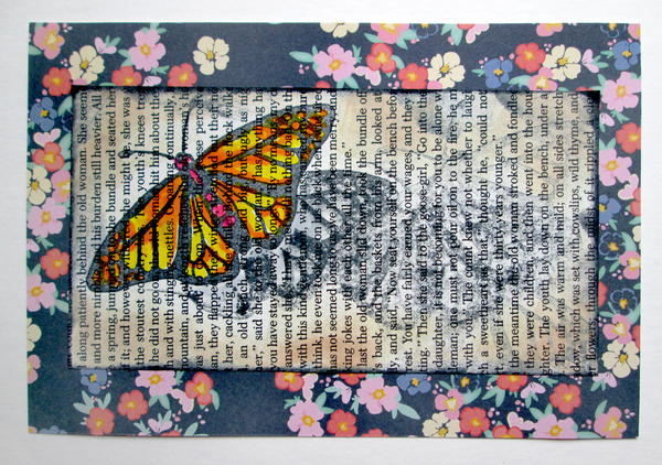 Butterfly Fly Away Card