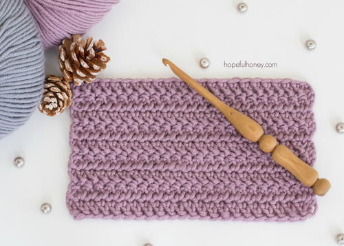 Crochet The Herringbone Double Crochet