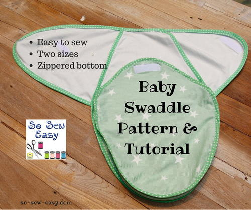 Free Baby Swaddle Pattern Easy Tutorial
