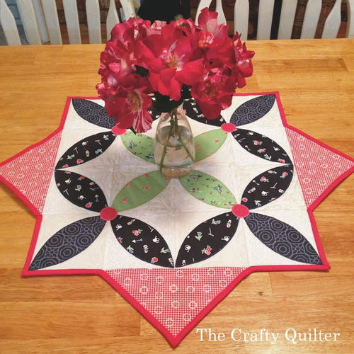 Spring Petals Table Topper Pattern