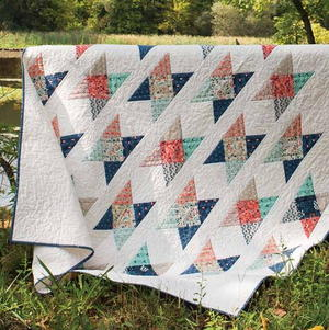 Field Crossing Quilt Pattern
