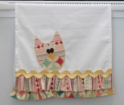 Owl Tea Towel Tutorial