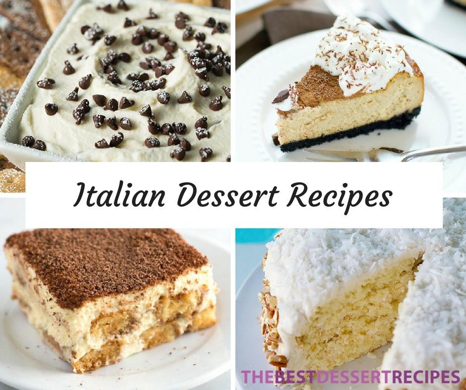 29 Incredible Italian Dessert Recipes