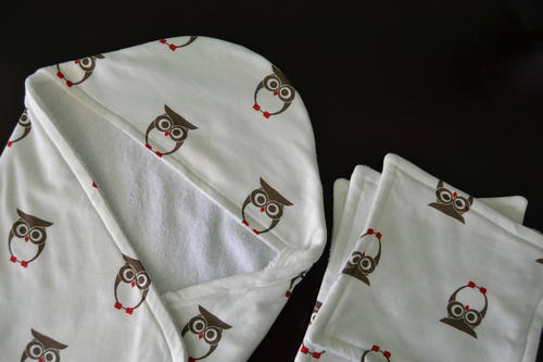 Hooded Baby Towel & Washcloths