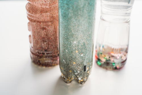 DIY Stress Relief Bottle Project