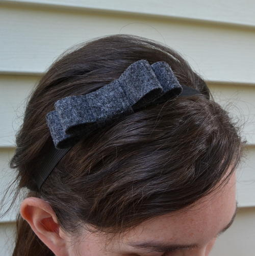 Double Loop Bow Headband