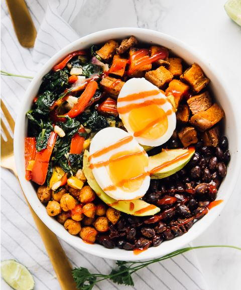 Low Carb Protein Breakfast Bowl