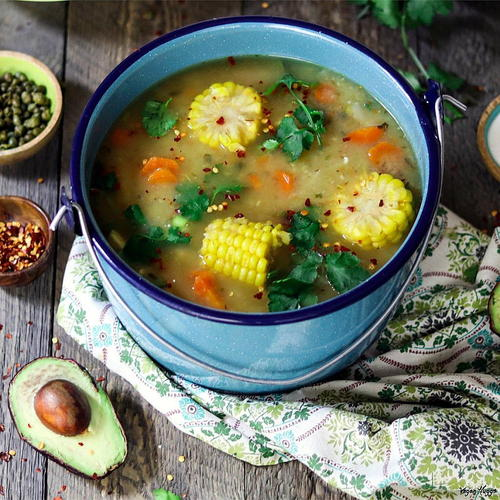 Vegan Ajiaco (Colombian Soup)